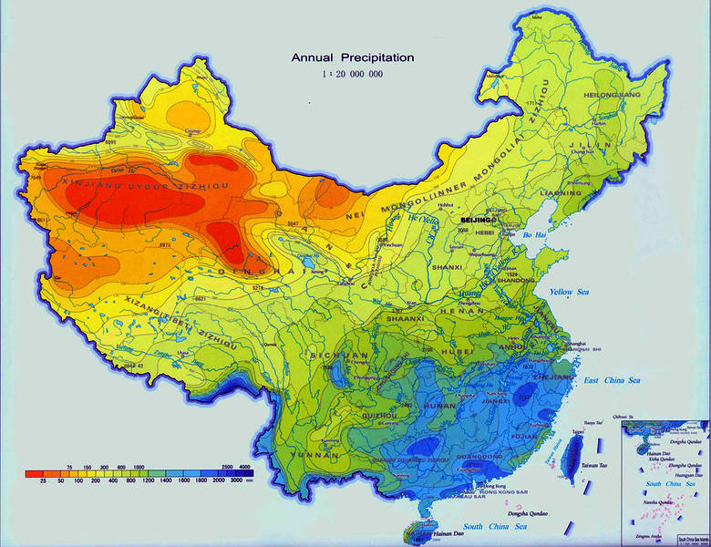 climate map of china China Agri Benchmark climate map of china